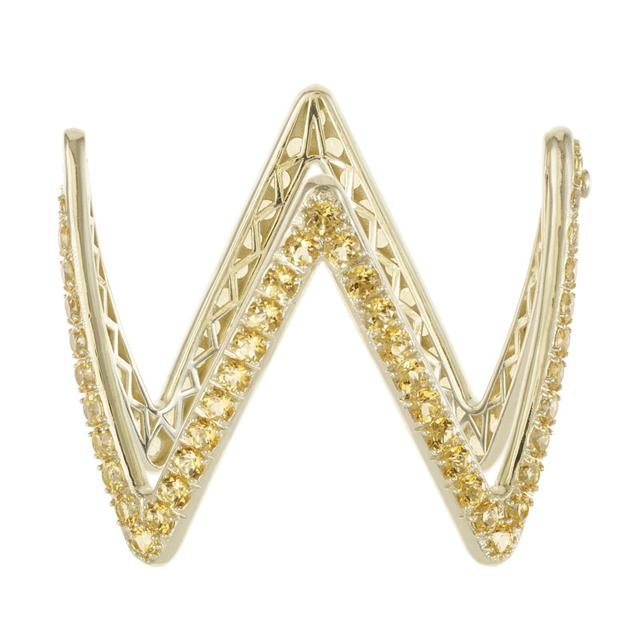 Swoonery-Ziggy Cuff Bracelet