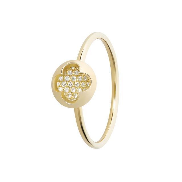 Swoonery-Diamond Mia Ring
