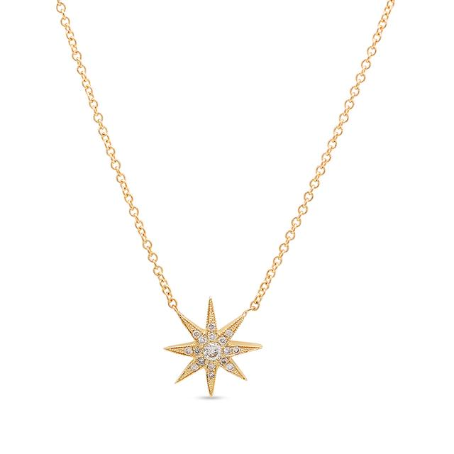 Swoonery-Twinkle Star Pendant Necklace