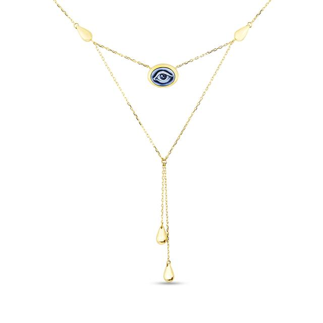Swoonery-Eye Feel Pendant