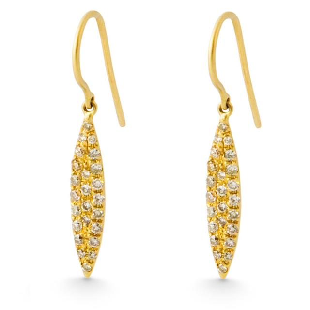Swoonery-MARQUISE DROP EARRINGS