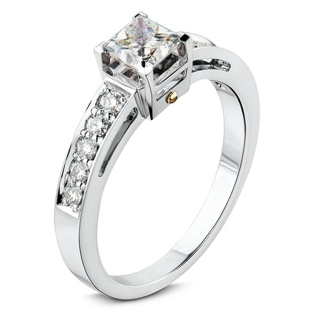 Swoonery-Diamond Cantilever Bridge Ring