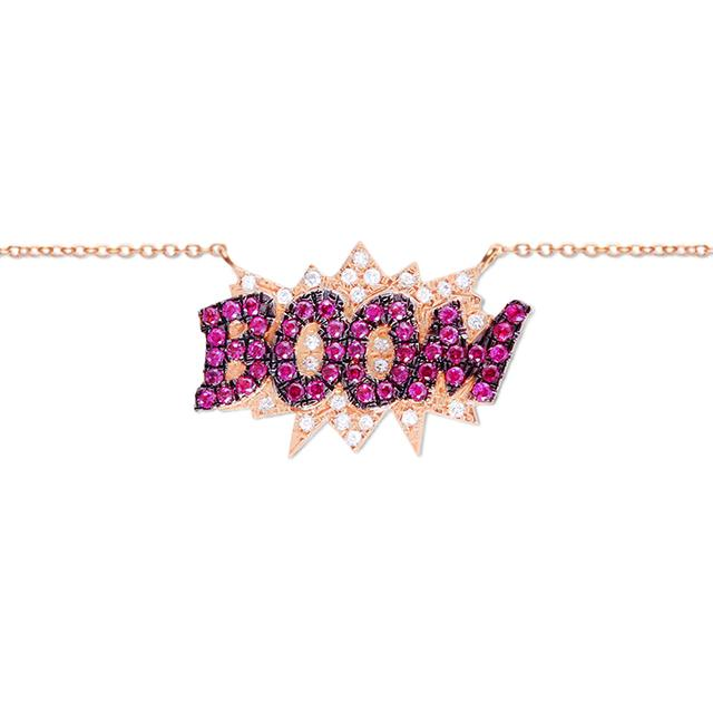 Swoonery-Boom Necklace