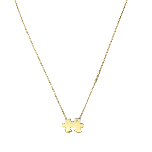 Swoonery- Missing Piece Necklace