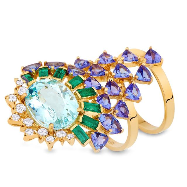 Swoonery-Magic Ring - Aquamarine