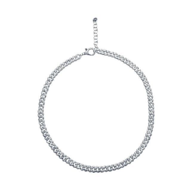 Swoonery-Mini Pave Link Choker