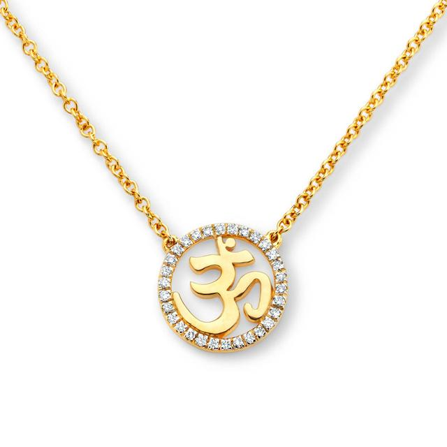 Well-known 20K Om Necklace Swoonery | Shop Designer Fine Jewelry Online OP12