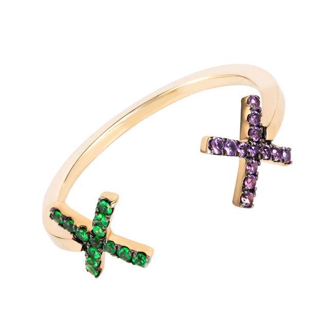 Swoonery-Cross Ring