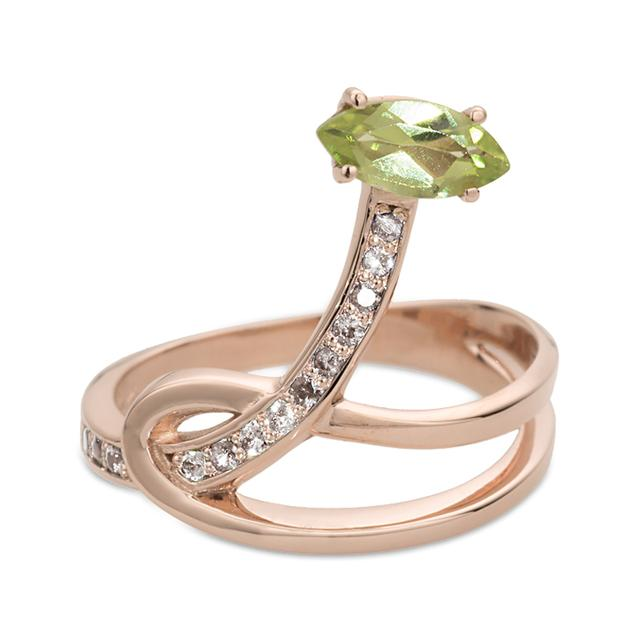 Swoonery-Gloriosa Lily Ring - Glory