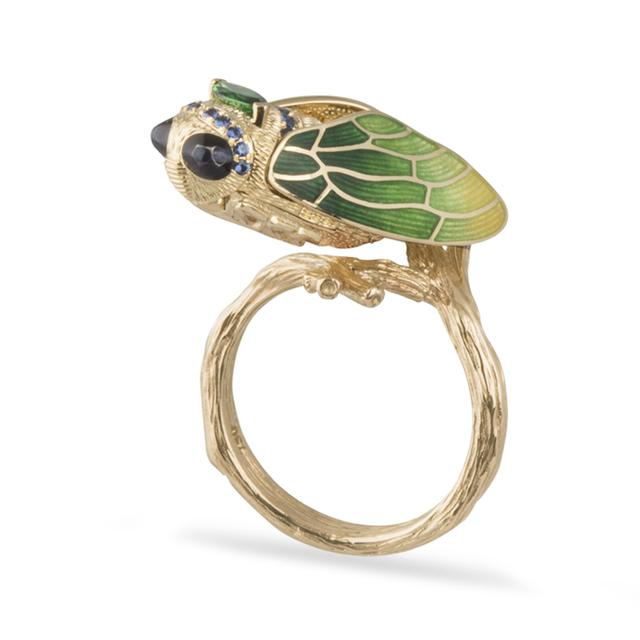 Swoonery-Cicada Ring