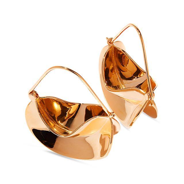 Swoonery-Paniers Dores Earrings