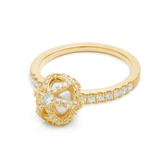 Swoonery-Sphaera Dangle Ring
