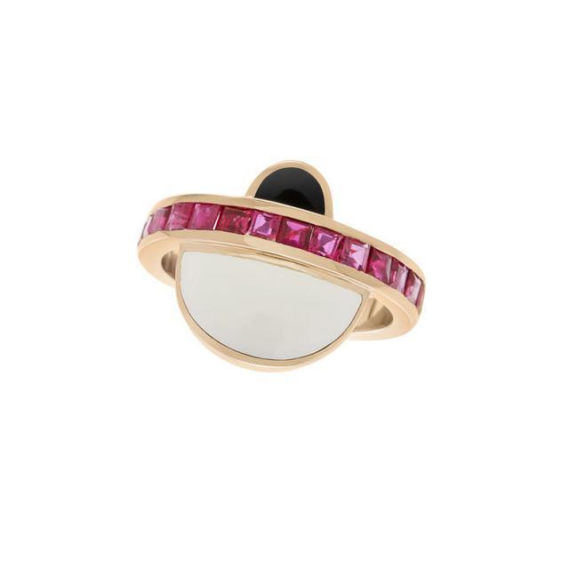 Swoonery-Trifecta earrings