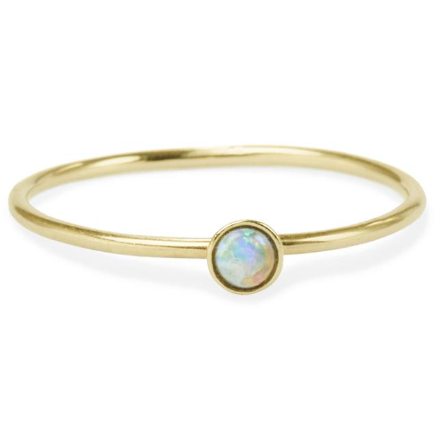 Swoonery-OPAL FRIENDSHIP RING