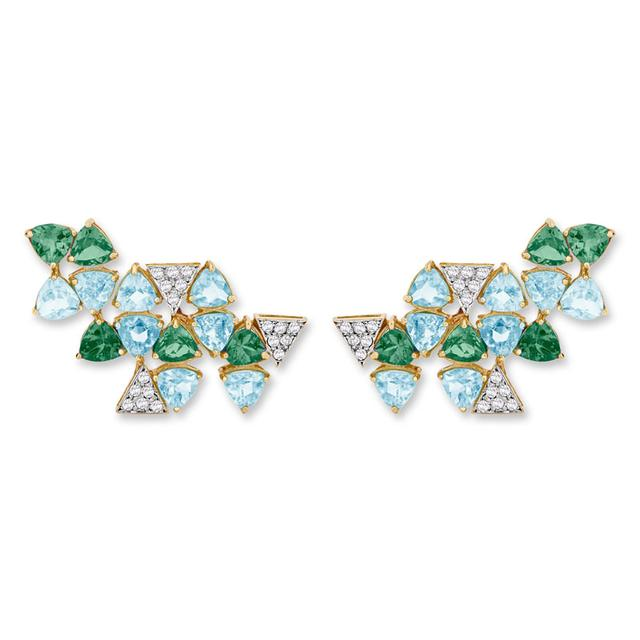 Swoonery-Harlequin Mini earrings