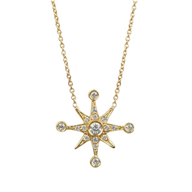 Swoonery-Compass Necklace