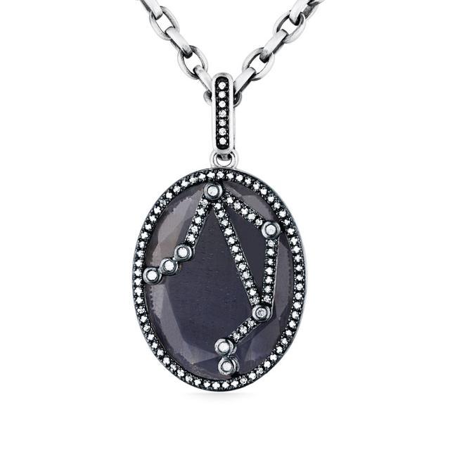Swoonery-Sapphire Constellation Pendant