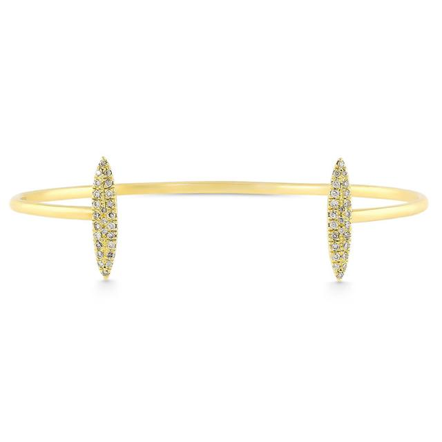 Swoonery-DOUBLE MARQUISE CUFF