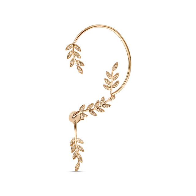 Swoonery-Leaves Statement Earcuff