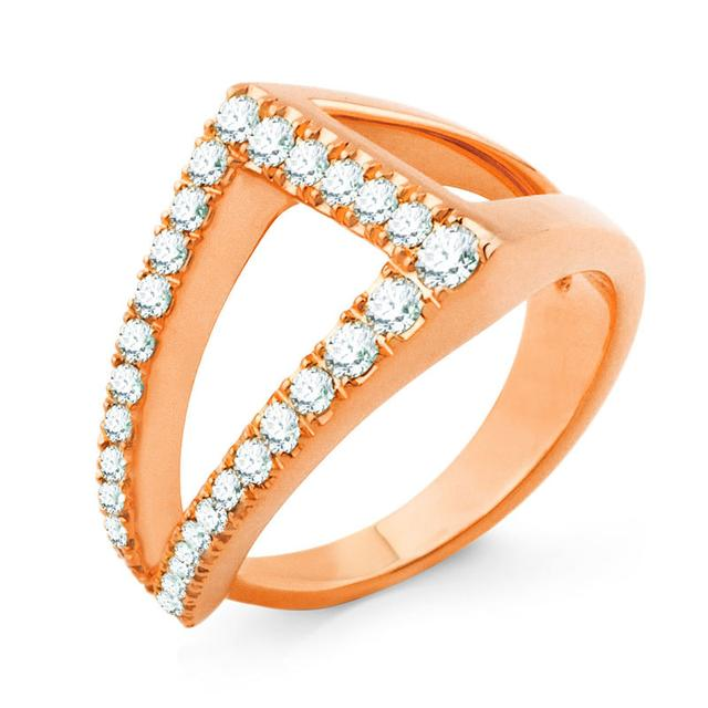 Swoonery-DAHLIA PINKY RING