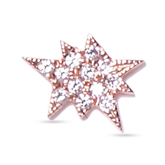 Swoonery-Single Explosion Stud Earring