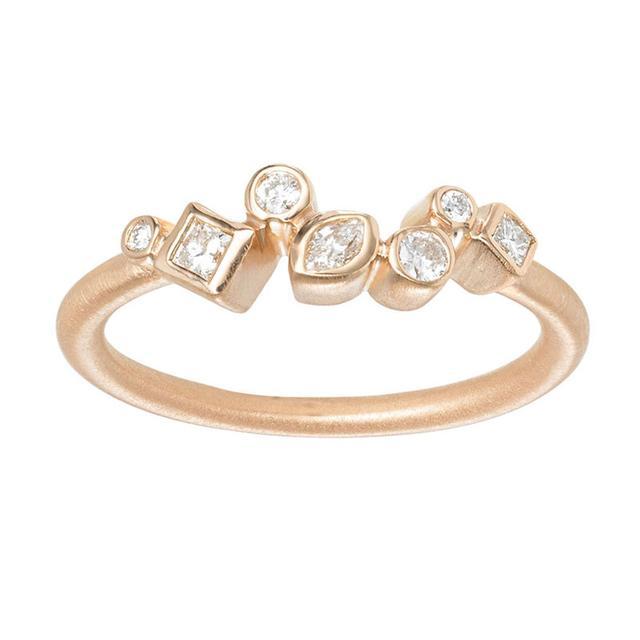 Swoonery-THROWING STONES DIAMOND RING
