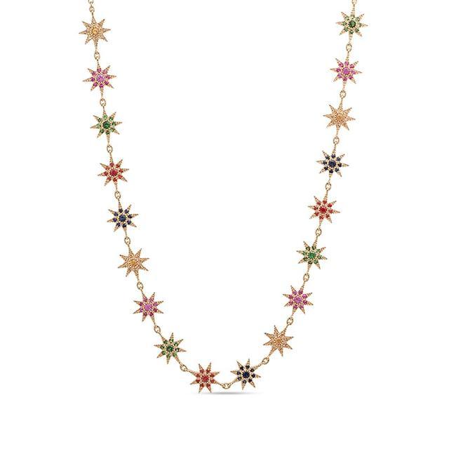 Swoonery-Rainbow Glow Necklace