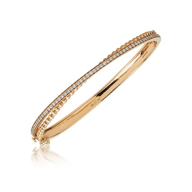 Swoonery-Rose Gold Bubbles Bracelet