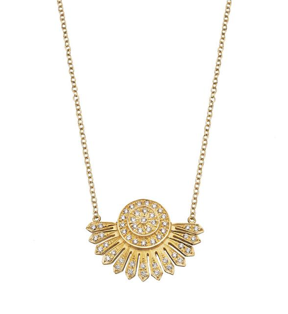 Swoonery-Demi Helios Necklace