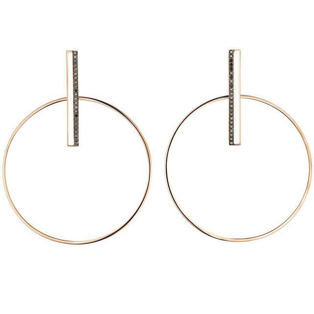 Swoonery-Swinging-O earrings