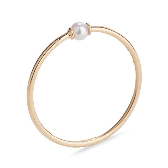 Swoonery-Yellow Gold Perle Rare Ring