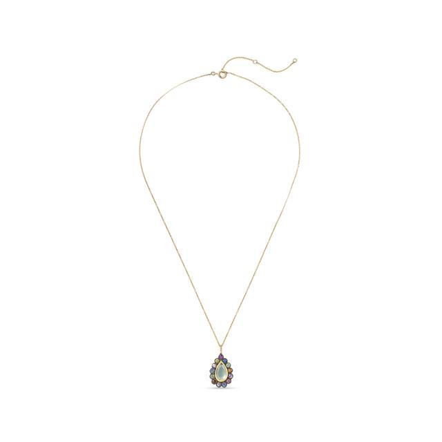 Swoonery-Lakshmi Footprint Necklace