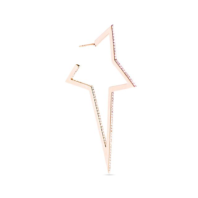 Swoonery-Diamond Large Star Earring