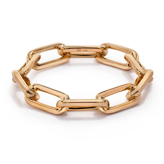 Swoonery-Saxon Chain Link Ring