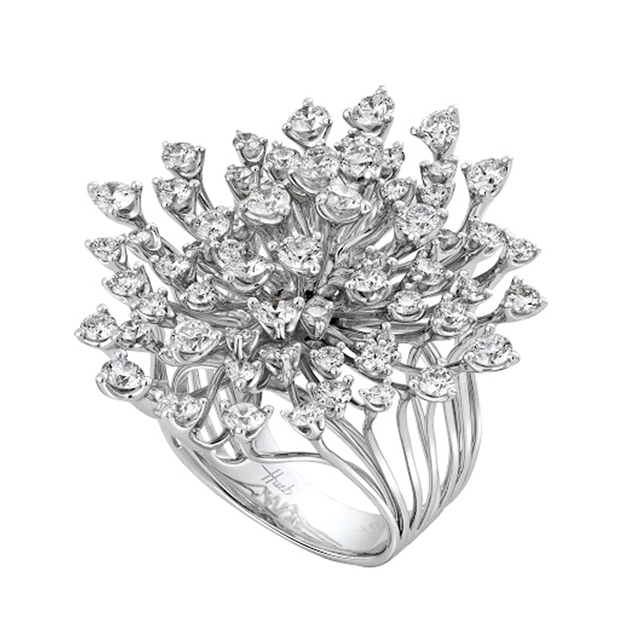 Swoonery-White Gold Luminus Ring