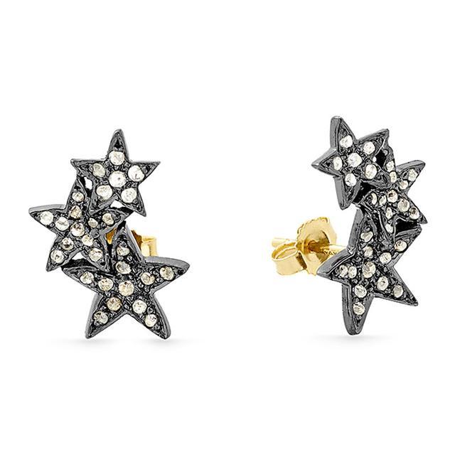 Swoonery-Mini Diamond Studs