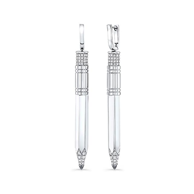 Swoonery-Small Drop Pencil Expression Earrings