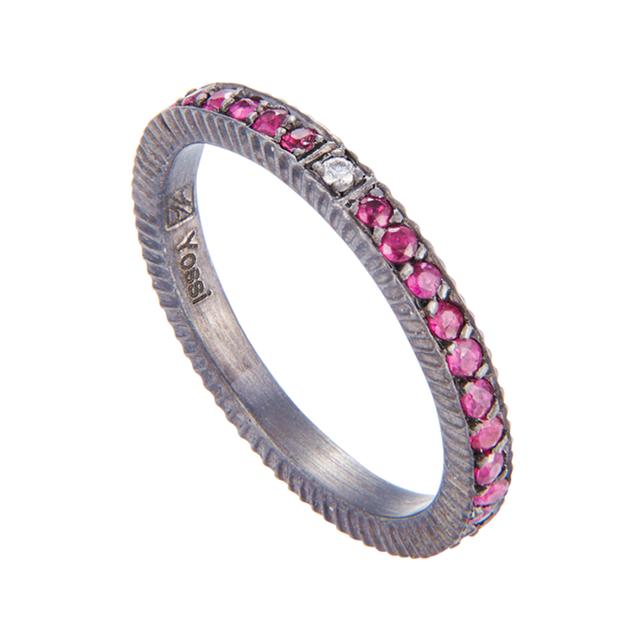 Swoonery-Yossi Harari Lilah Pavé Ring