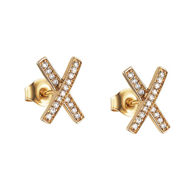 Swoonery-Kisses & Stars Earrings