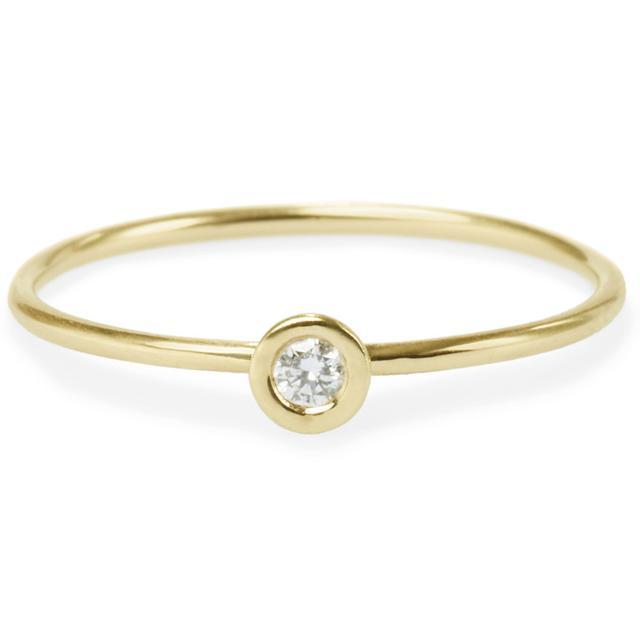 Swoonery-ROUND DIAMOND FRIENDSHIP RING
