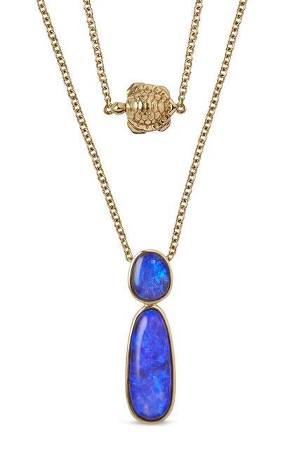 Swoonery-Classic Opal Drop Pendant