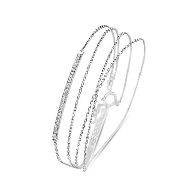 Swoonery-Twist Bracelet