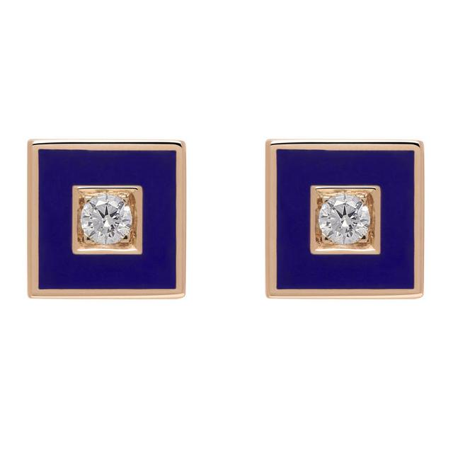 Swoonery-Square color studs