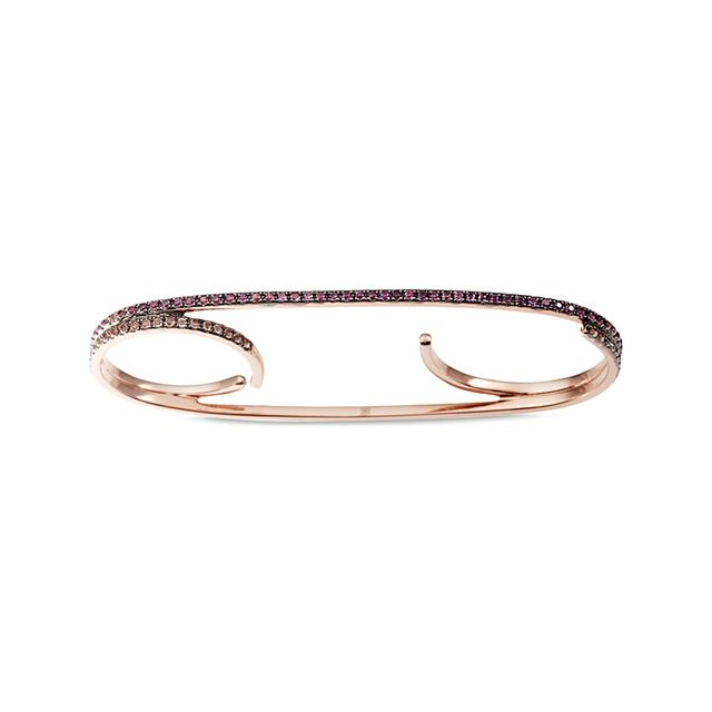 Swoonery-Canser Triple Ring
