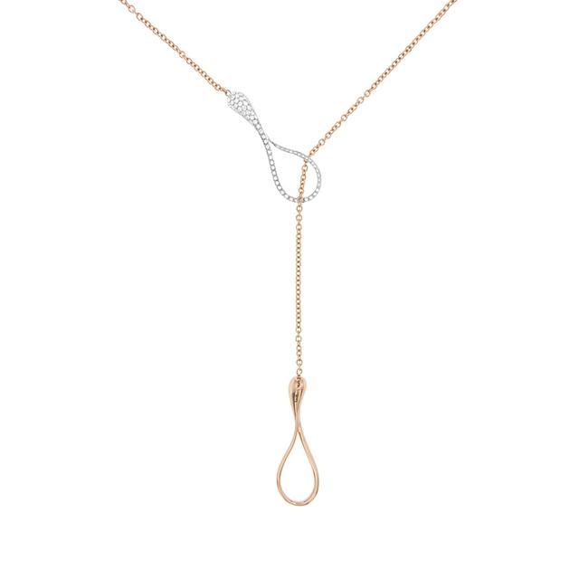 Swoonery-Elika Y-Shape Necklace