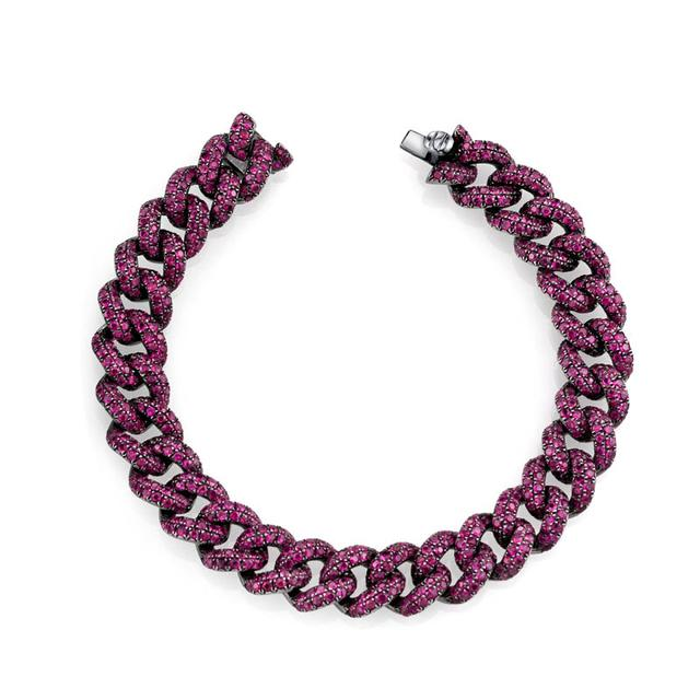 Swoonery-Essential Gemstone Link Bracelet