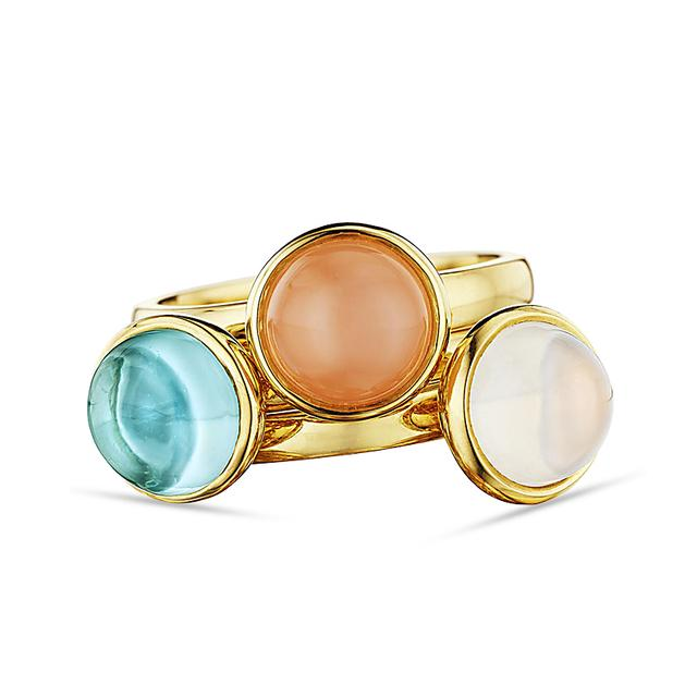Swoonery-Stacking Rings in Dawn
