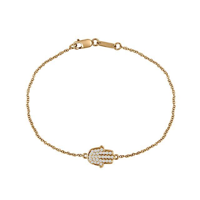 Swoonery-Hamsa Bracelet