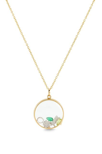 Swoonery-Large Round Yellow Gold Loquet