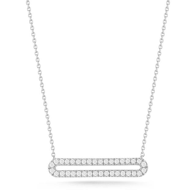 Swoonery-Isabelle Brooke White Gold Necklace